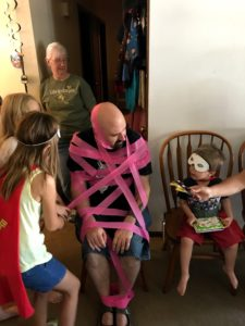 Super Hero Party Game