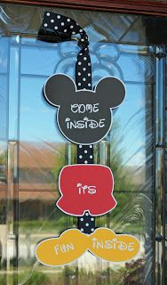 Mickey Mouse Door Decoration
