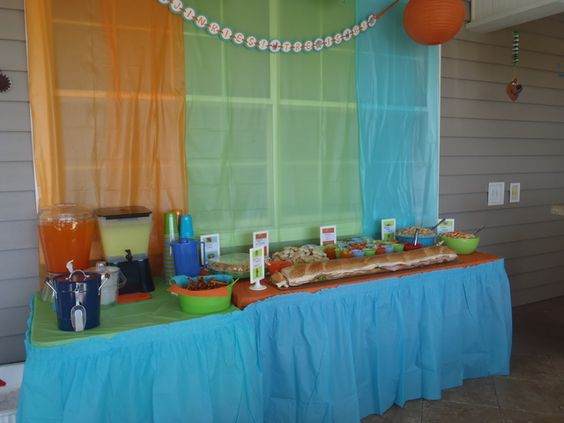 Scooby Doo Party Snack Table