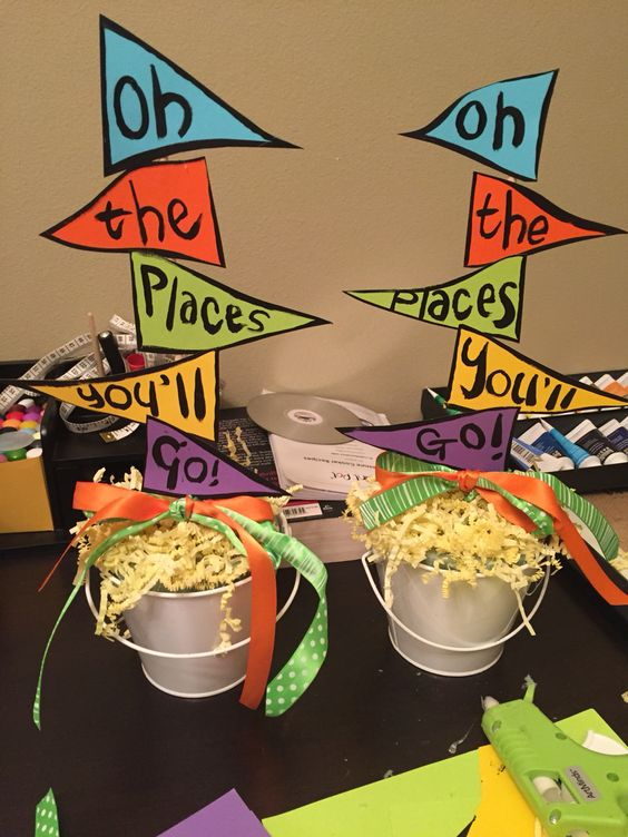 Oh the Places You'll Go Party Decorations