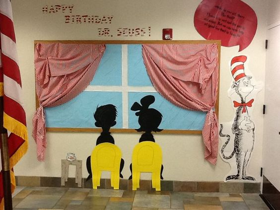 Cat in the Hat Party Decoration