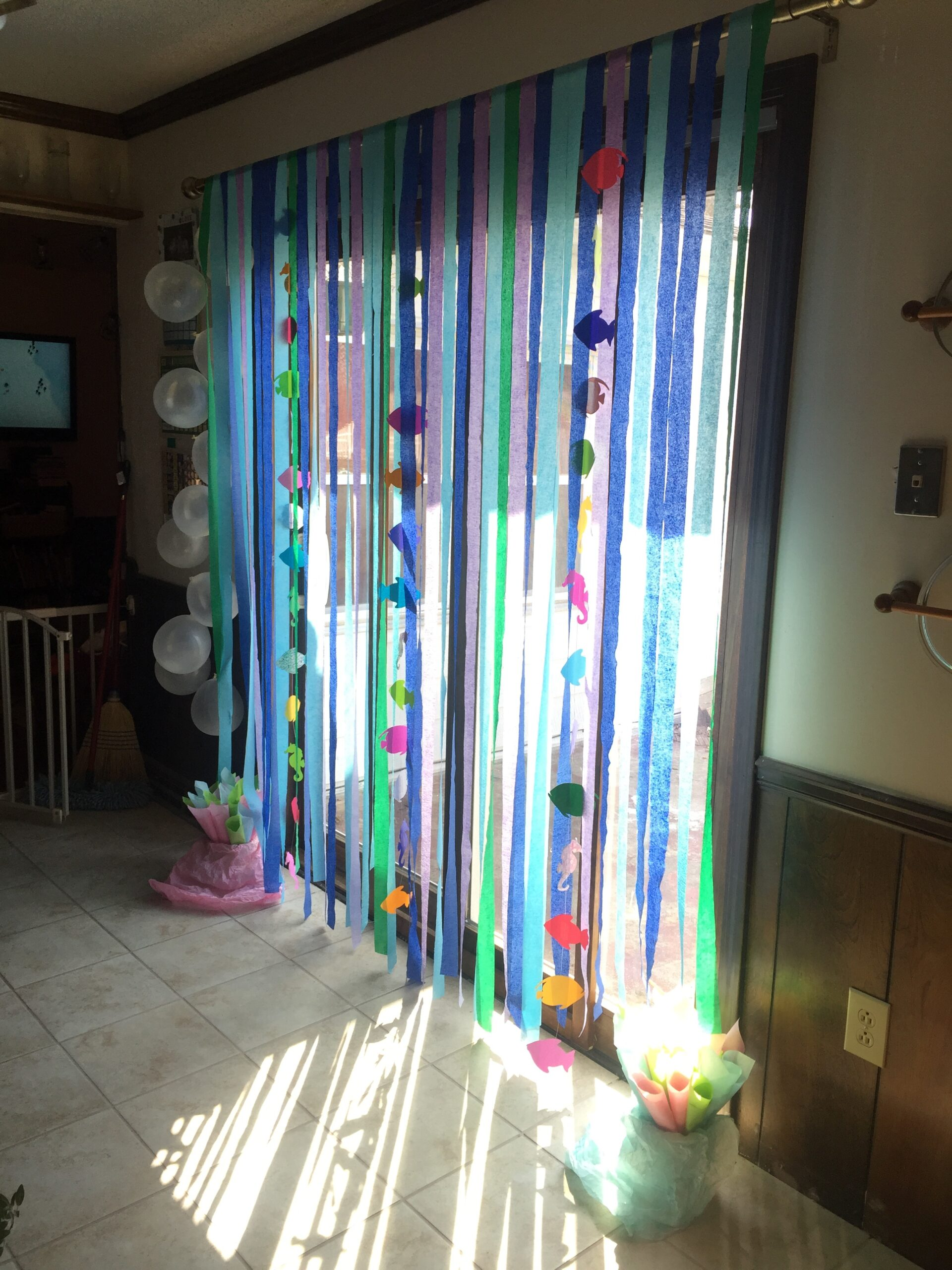 Ocean and Coral Reef Party Decoration